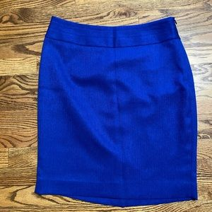 The Limited royal blue skirt in size 8